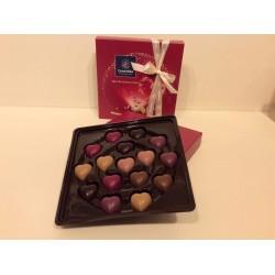Boîte cadeau 16 cœurs